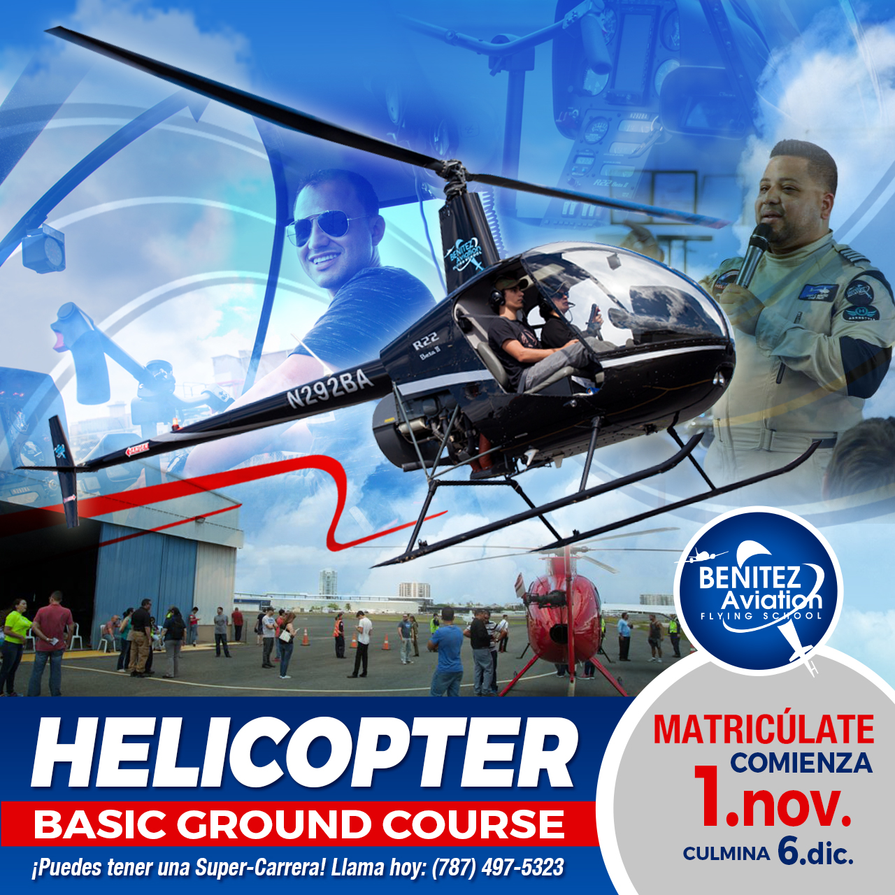 Curso Básico de Helicóptero