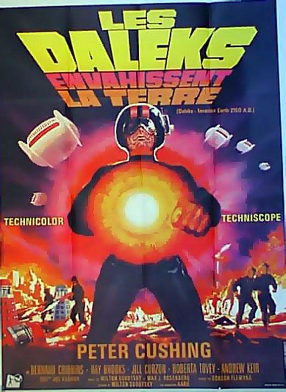 Les Daleks Envahissent La Terre : daleks, envahissent, terre, Biggest, Private, Known, Exhibition, Movie, Posters.