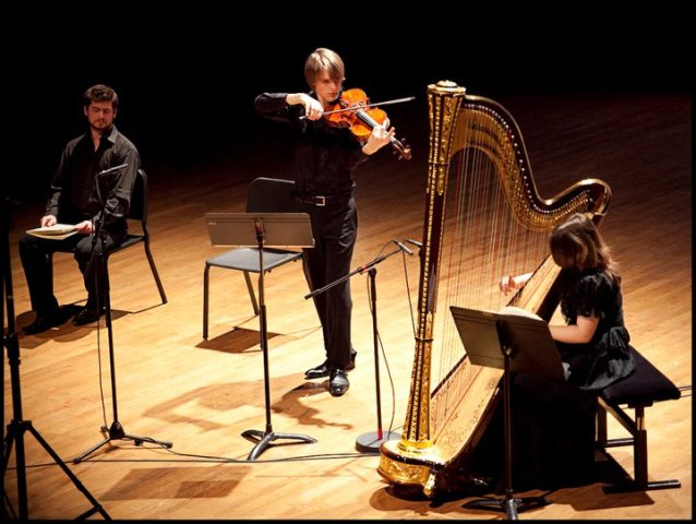 videos, viola, harp, Benjamin Beck