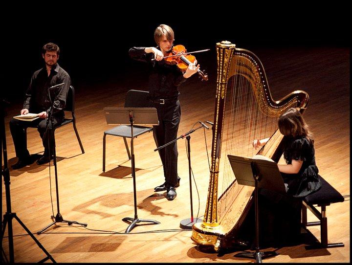 Benjamin Beck viola harp Schubert Winterreise