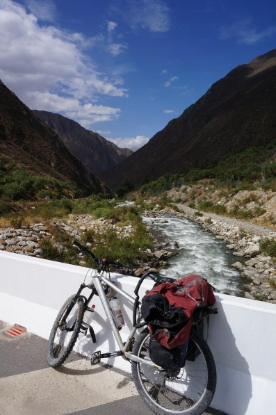 Got to cycle along this river for the first 5 days, seeing how it changed along the way. Would be some good paddling in some spots!