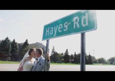 Hayes Wedding