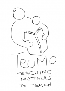 TeaMo - sketch of the Logo for Teaching Mothers to Teach