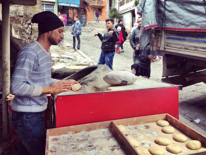 Microloan bakery izmir, refugee small business loans through the Goodall Foundation and ReVI