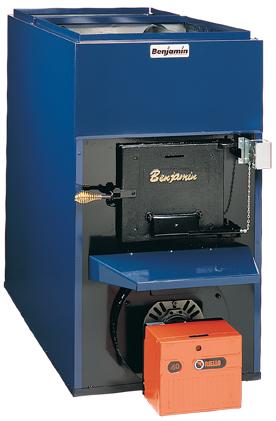 Benjamin Heating :: FS140 Combination Oil/Wood Hot Air Furnace
