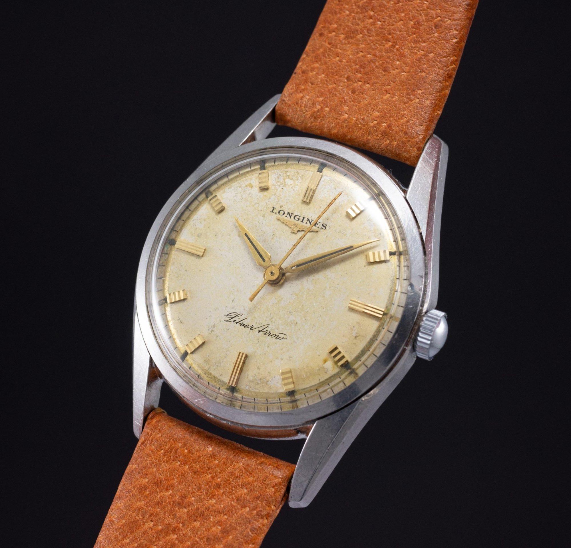 vintage Longines Silver Arrow 1285 Radium dial cal. 23ZS