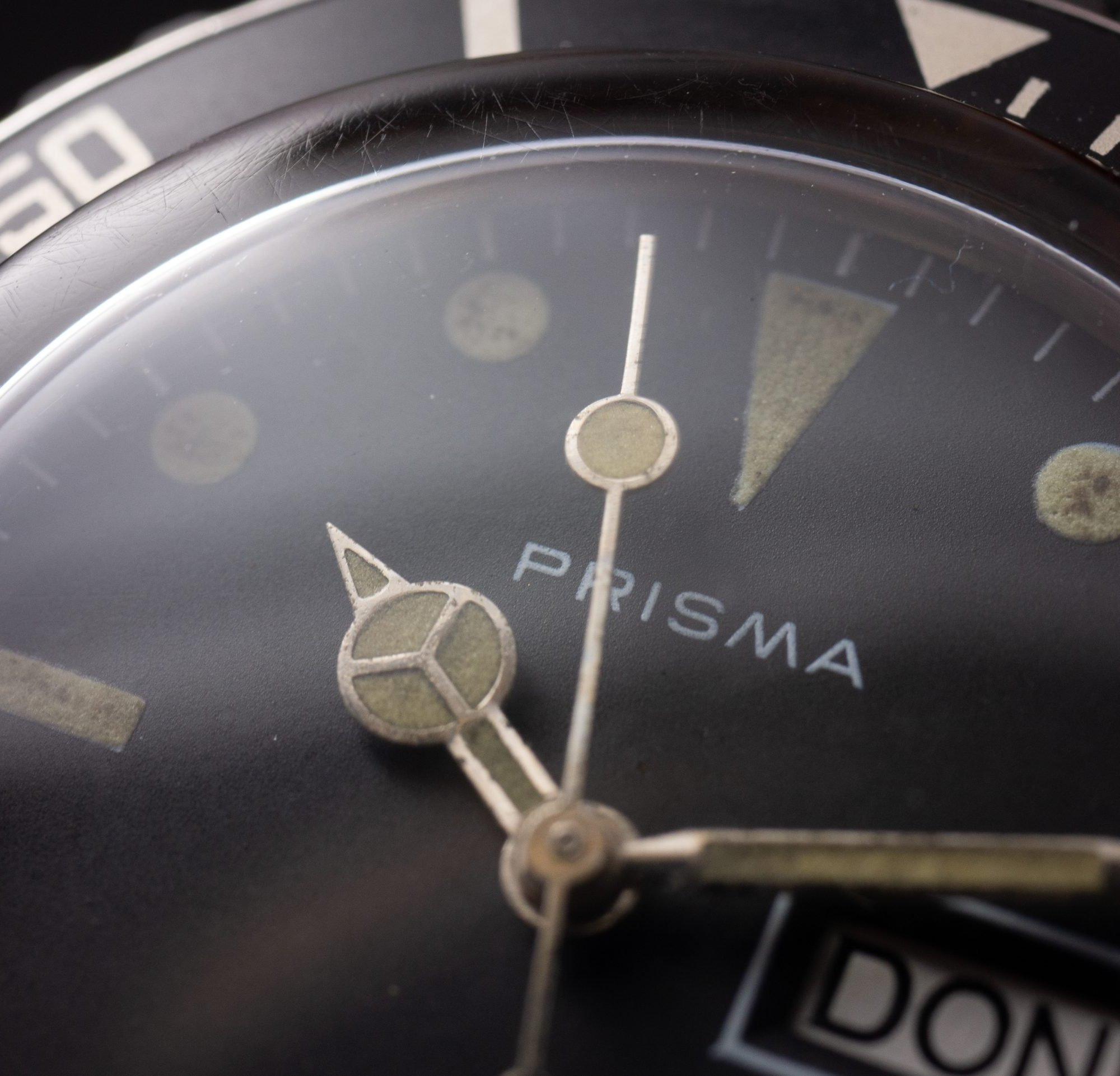 Vintage Prisma Submariner Automatic DayDate Tritium Dial with BOX
