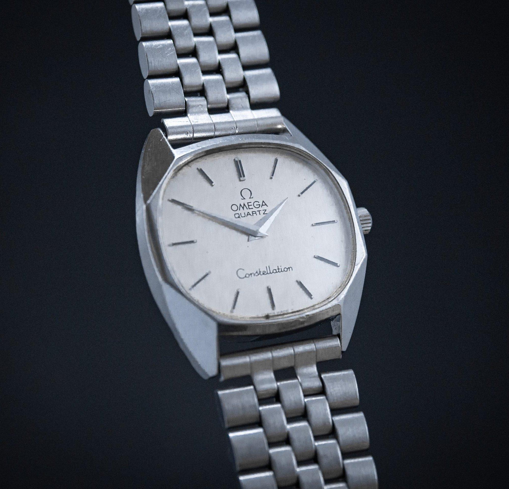 vintage Omega Constellation Quartz BOR bracelet
