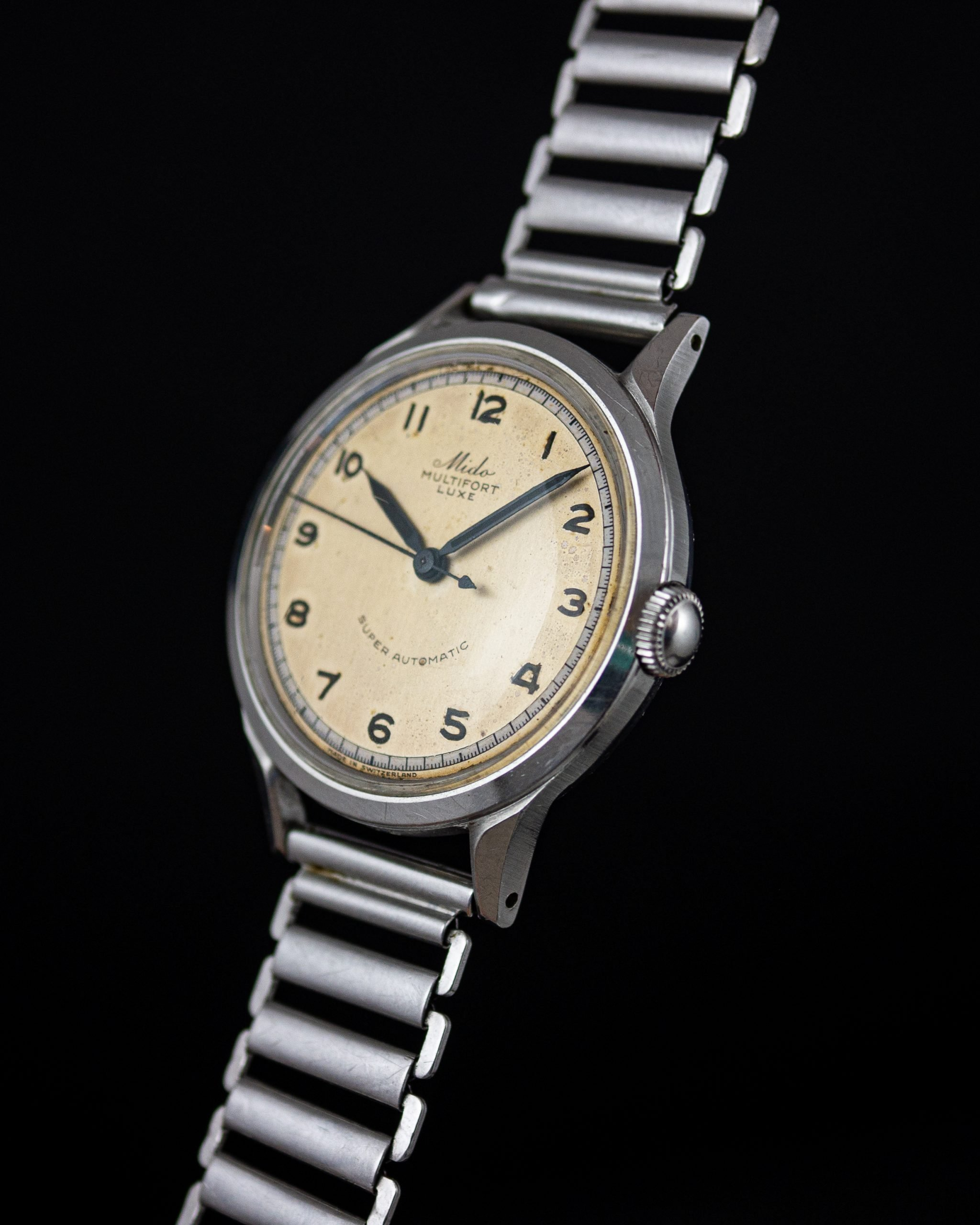 Vintage Mido Multifort Luxe Super-Automatic