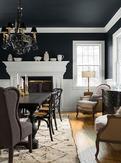 Soft Black Paint Color : black, paint, color, Black, Paint, Ideas, Benjamin, Moore