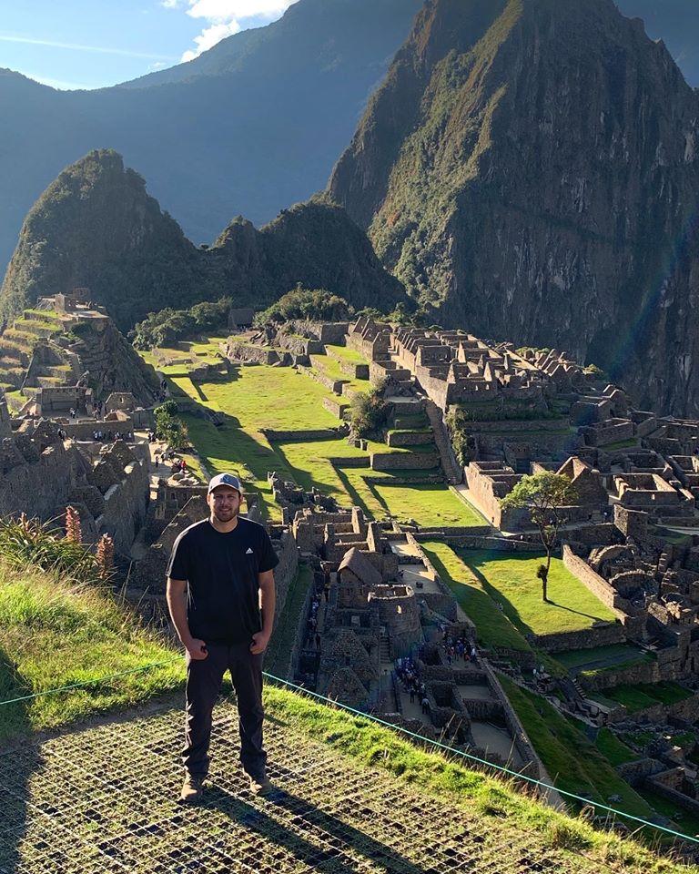 Machu Piccho on Benjamin Preston's website