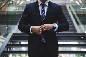 Man in Business Suit on Benjamin Preston's website
