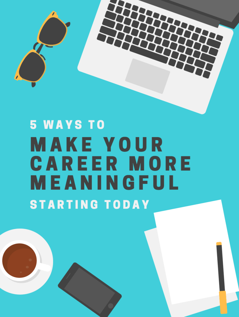 Make Your Career Meaningful ebook