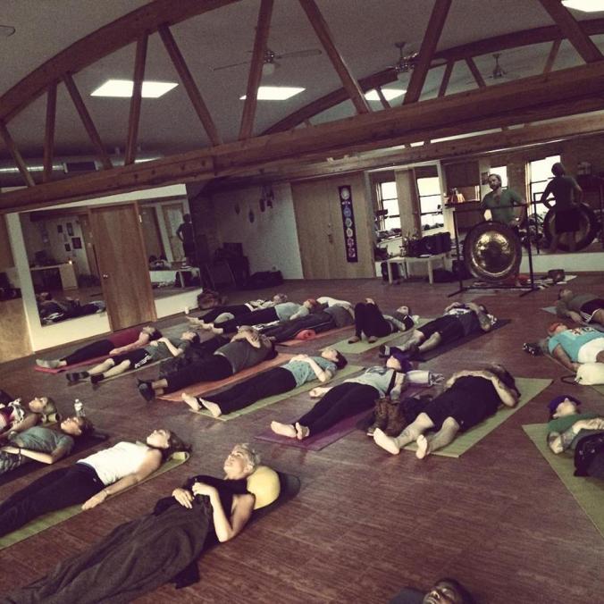Benjamin Savage Gong Meditation Chicago