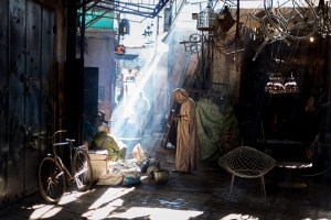 Daylight in the souk