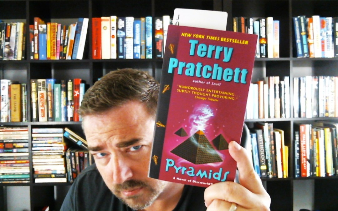 What I'm Reading: Pyramids by Terry Pratchett