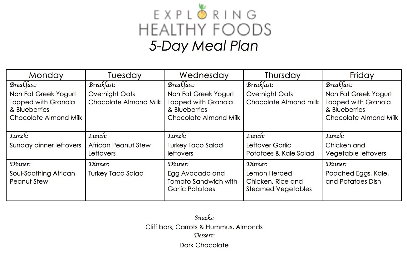 monday-friday-meal-plan