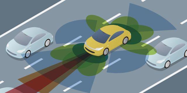 autonomous-car-driving-on-road