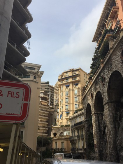 Walking through the streets of Monte Carlo.