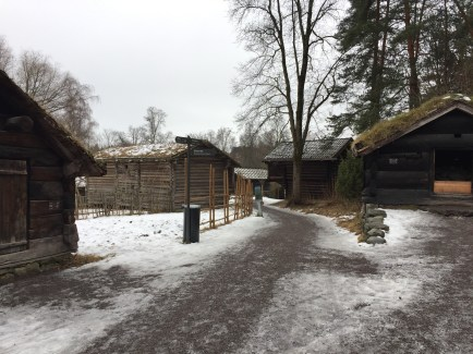 This is what Oslo looked like back when it was first established. Very old and cramped wooden buildings.