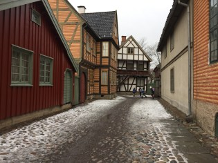 """the """"Old-Town"""" of Oslo. More modern than when it was first established, but still pretty old. From the 1800's I believe."""