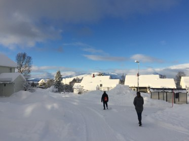 The skies cleared up the next morning. Who know how beautiful Tromsø was.