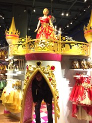 What kind of Disney fanatic would I be if I didn't go in?