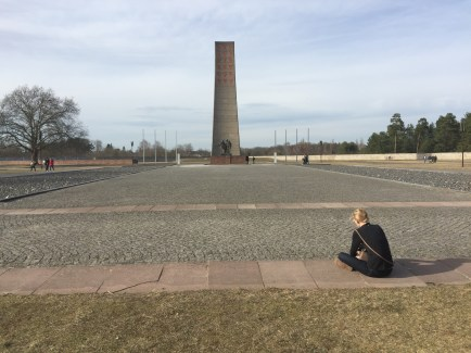 This is the national memorial of Sachsenhausen.