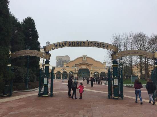My first park of the day: Walt Disney Studios.