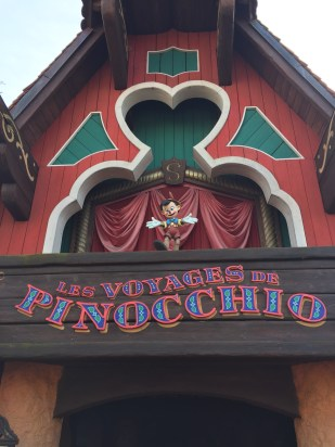 The voyage of Pinocchio!