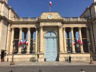 Day 2: We toured the Assemblée Nationale. This is where the French equivalent of the House of Representatives host all of their meeting.