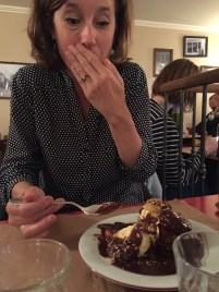As you can see, she loved her dessert.