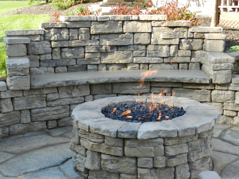 Outdoor Fireplace Landscaping