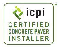 Certified by Interlocking Concrete Pavement Institute