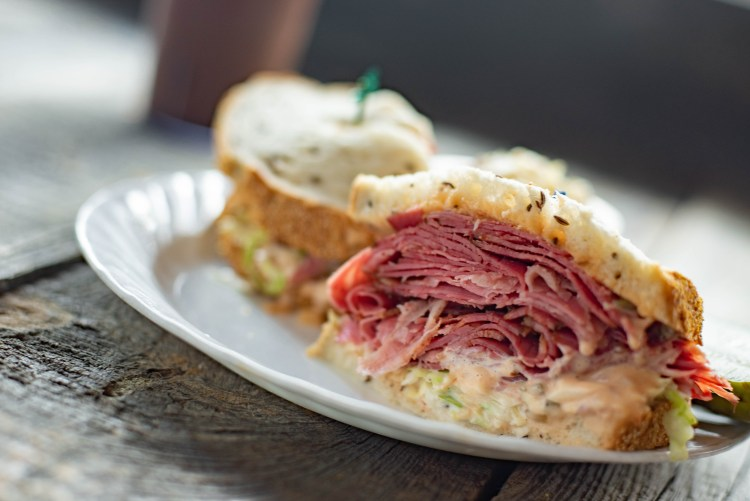 Benjies Special sandwich. 1 of our signature plates.