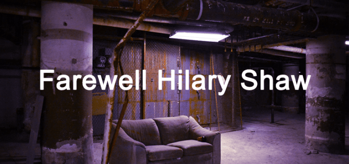 farewell hilary shaw - header