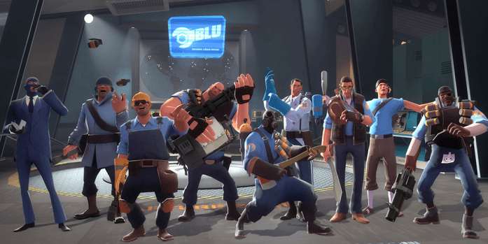 online multiplayer - tf2 first