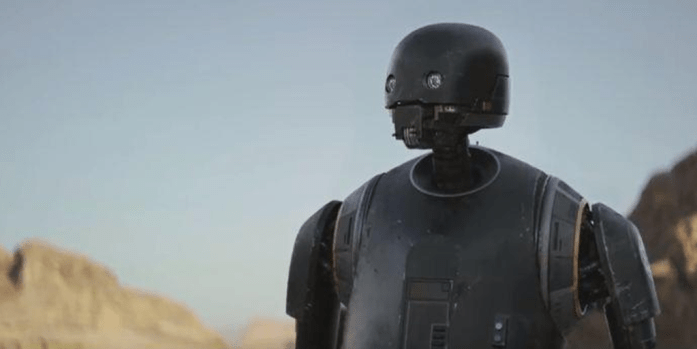 rogue one review - k2so
