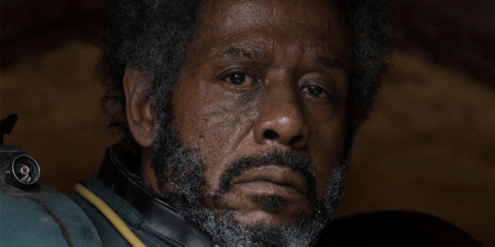 rogue one review - saw gerrera