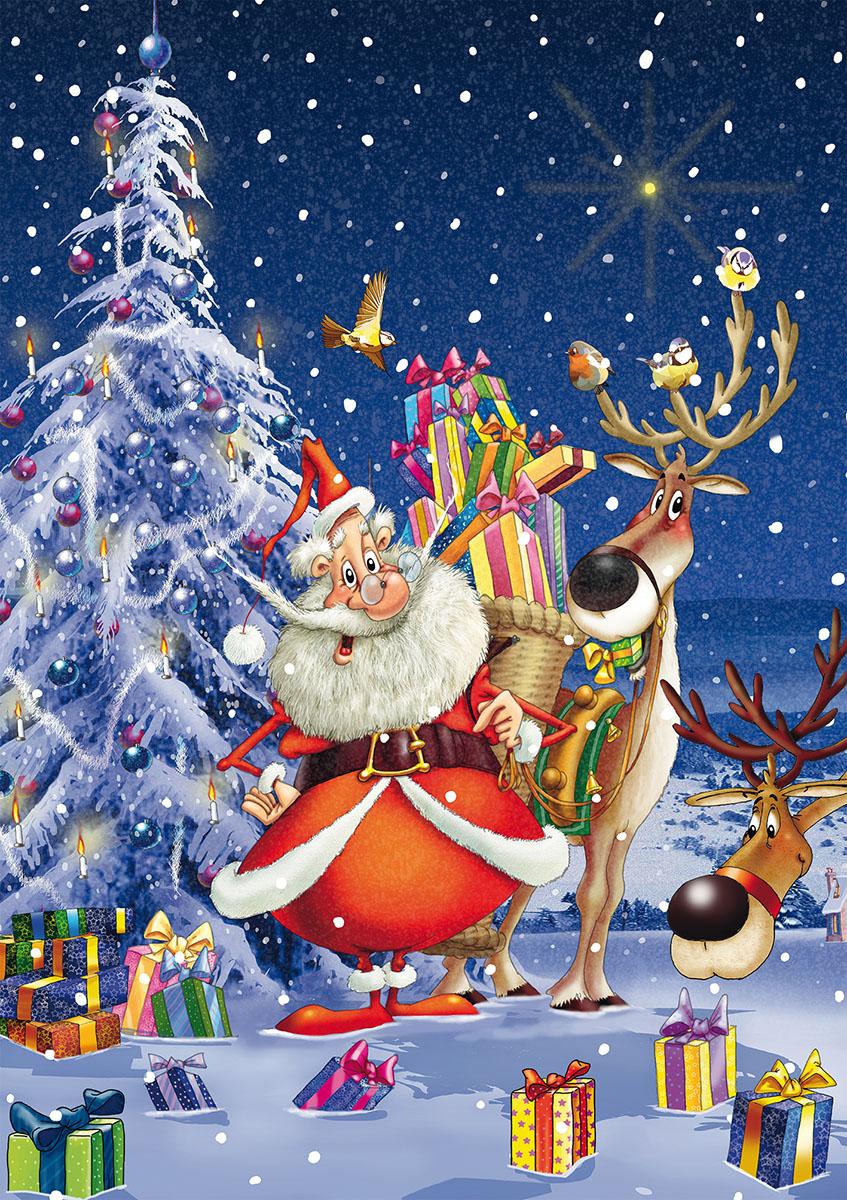 Pat Patrouille Joyeux Noel Les Amis : patrouille, joyeux, Joyeux, Noël, Pièces, Piatnik, Casse-tête, Benjo,, Magasin, Jouets, Québec