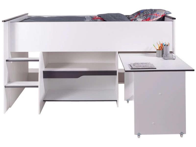 Bureau echelle conforama lit mezzanine avec bureau conforama