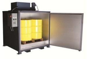 'Sahara Hot Box' Model E4 Electric Drum Heater