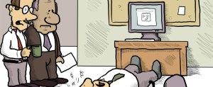E-news cartoons