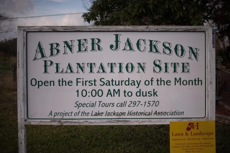 Abner Jackson Plantation