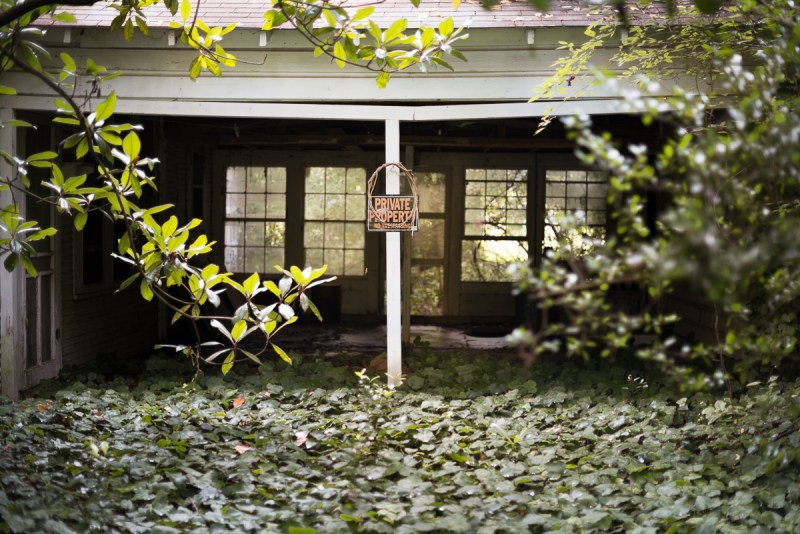 Unidentified Abandoned House