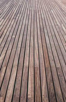Deck Boards. Cromer Pier