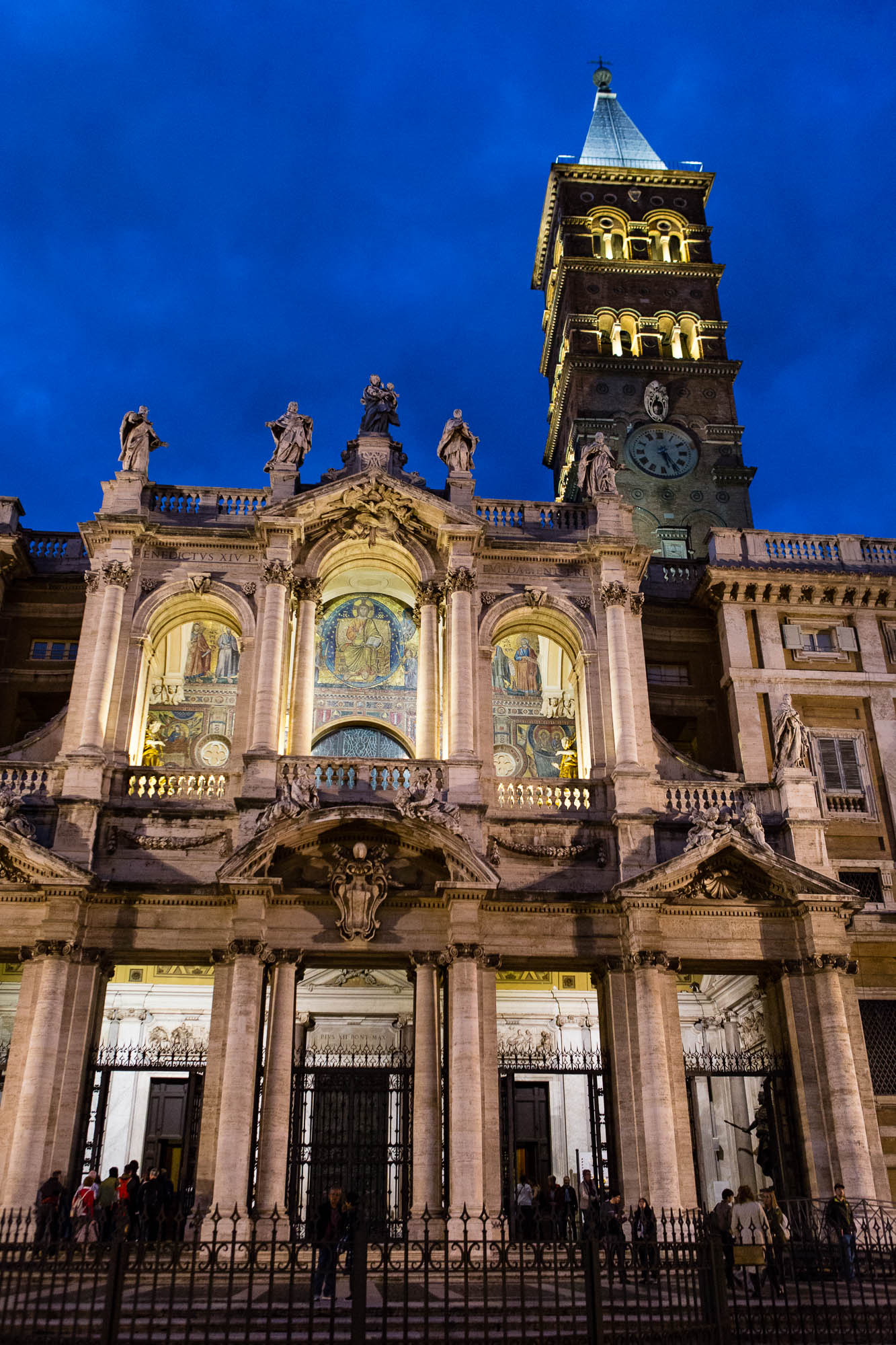 Basilica di Santa Maria Maggiore, taken by Ben Lee, a derbyshire based photographer on his trip to Rome.
