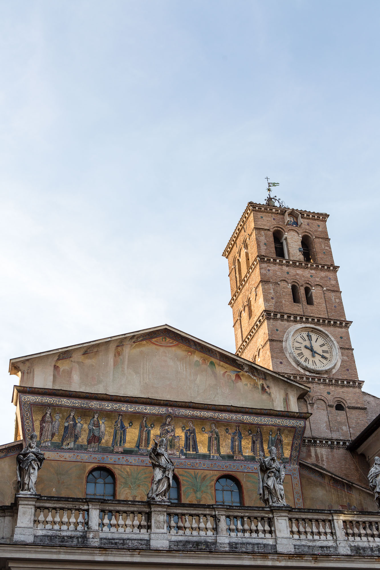 Basilica of Santa Maria in Trastevere, taken by Ben Lee, a derbyshire based photographer on his trip to Rome.