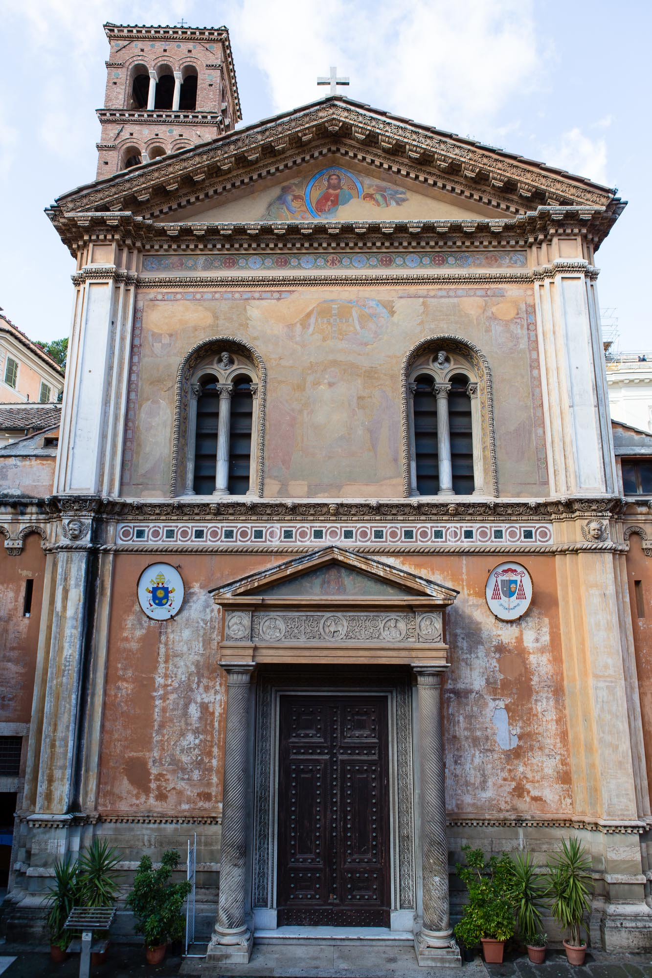 Basilica of Santa Pudenziana, taken by Ben Lee, a derbyshire based photographer on his trip to Rome.