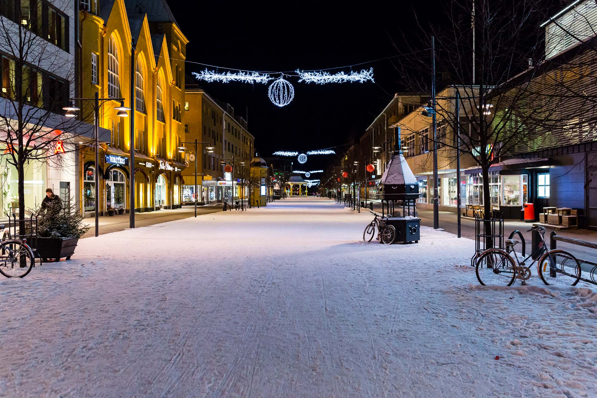 Shops, Luleå, Sweden January 2017, Ben Lee Photography